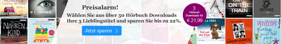 Frühlingsaktion: Drei Bestseller Hörbuch Downloads für 21,99 EUR