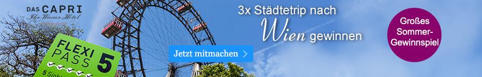 3 Städtetrips nach Wien gewinnen beim großen Sommergewinnspiel von eBook.de