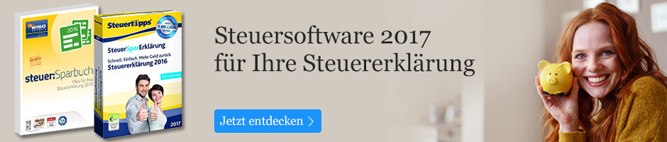 Steuersoftware 2017 bei eBook.de