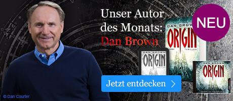Dan Brown: Autor des Monats Oktober bei eBook.des
