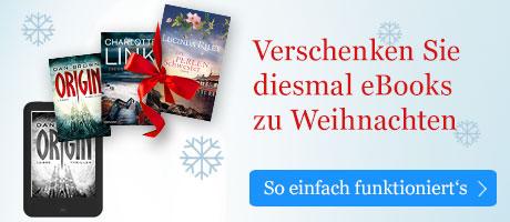 eBooks zu Weihnachten verschenken mit eBook.de