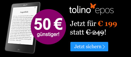 Black Friday Angebot: tolino epos für 199 EUR