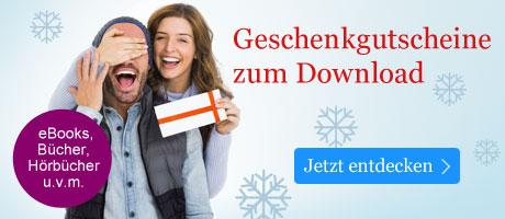 Geschenkgutscheine zum Download bei eBook.de