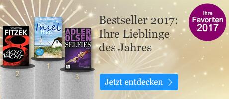 Bestseller 2017: Ihre Lieblinge des Jahres bei eBook.de