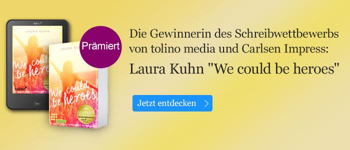 Laura Kuhn Gewinnerin des Schreibwettbewerbs von tolino media und Carlsen Impress
