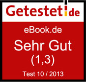 eBook.de im Getestet.de-Einzeltest: Bestnote