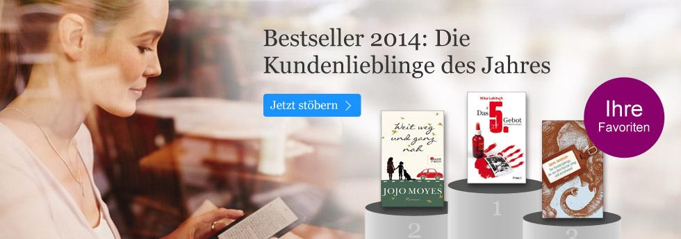Die eBook.de Bestseller 2014