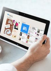 Nutzen Sie die Windows 8 App für Ihr Windows Tablet und erleben Sie vollen Lesekomfort