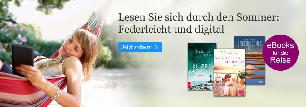 eBooks für den Urlaub - jetzt bei eBook.de sichern