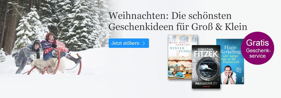 Weihnachtsgeschenke bei eBook.de