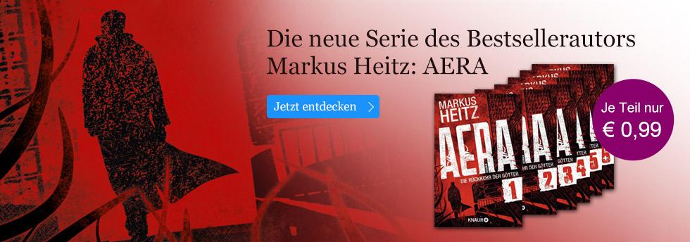 AERA - die neue Serie des Bestsellerautors Markus Heitz als eSerial bei eBook.de.