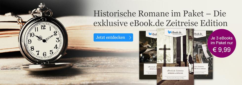 Die exklusive eBook.de Zeitreise Edition - historische Romane im günstigen Paket.
