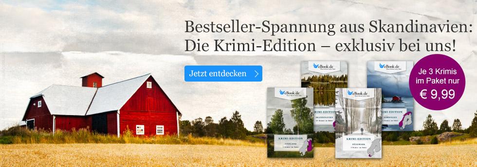 Jetzt sichern: Skandinavien Krimis im günstigen eBook Paket
