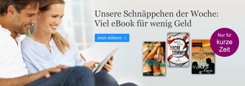 Die eBook Schnäppchen der Woche