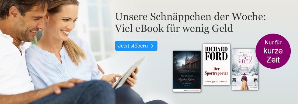 Die eBook Schnäppchen der Woche bei eBook.de