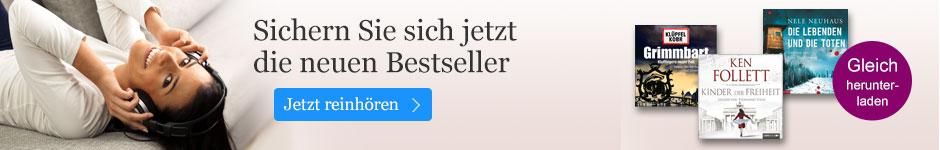 Hören Sie die Bestseller bei eBook.de.