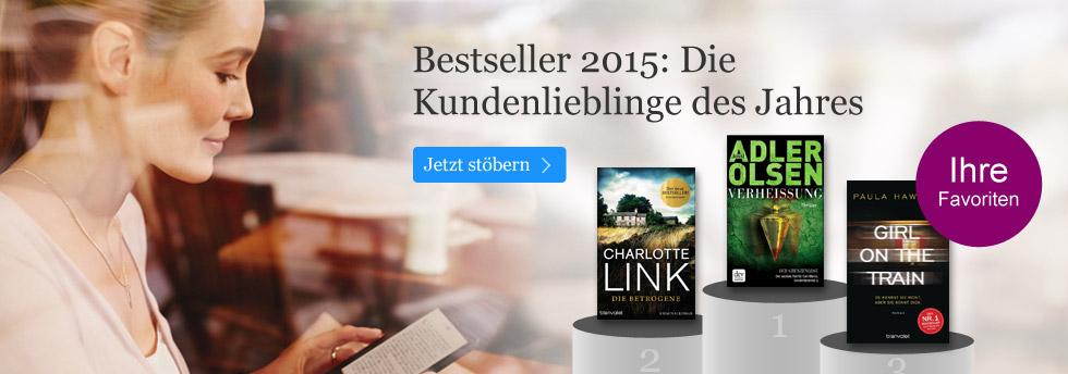 Die Jahresbestseller 2015 bei eBook.de