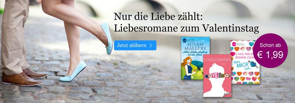 Die besten Liebesgeschichten zum Valentinstag bei eBook.de entdecken!