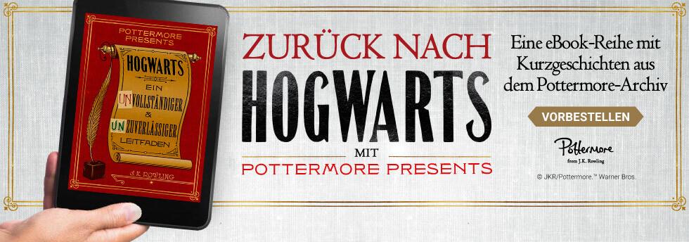 Pottermore Presents: eBook Kurzgeschichten aus Hogwarts - jetzt vorbestellen