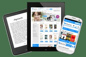 Geräteübergreifender Lesespaß durch Systemoffenheit bei eBook.de.