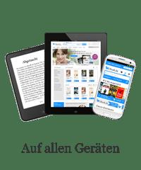 Geräteübergreifender Lesespaß durch Systemoffenheit bei eBook.de