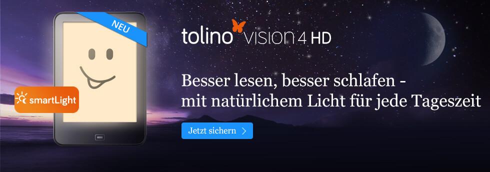 Der neue tolino vision 4 HD bei eBook.de