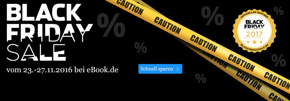 Black Friday Sale auf eBook.de - eBooks, Bücher, Kalender und Hörbuch Downloads