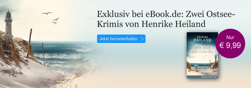 Exklusiv bei eBook.de: Zwei Ostsee-Krimis von Henrike Heiland