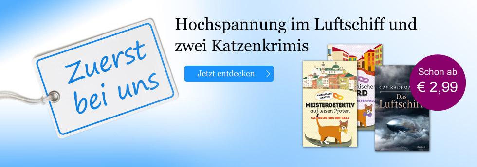 Zuerst bei uns: eBooks zuerst bei eBook.de