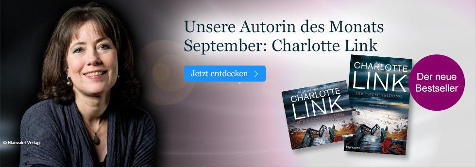 Charlotte Link - unsere Autorin des Monats September