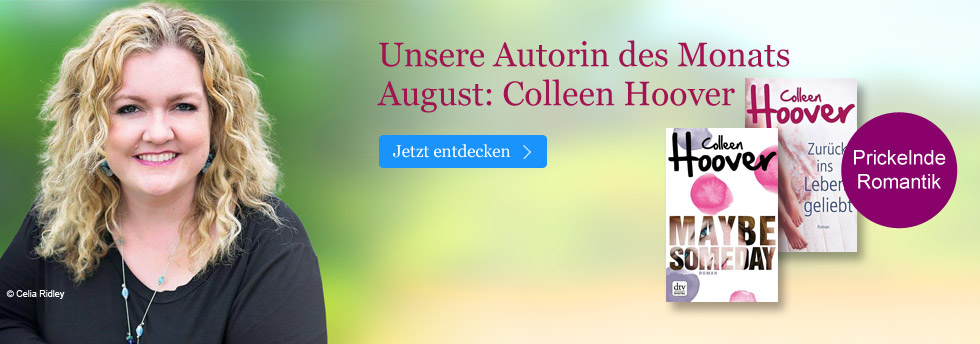 Autorin des Monats August bei eBook.de: Colleen Hoover