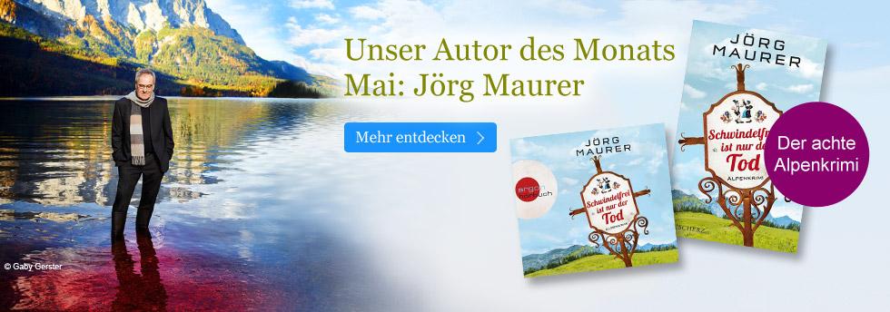 Jörg Maurer - unser Autor des Monats Mai
