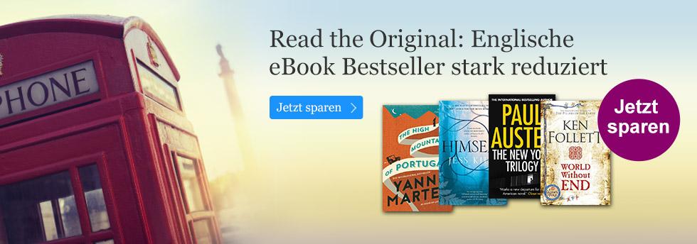 Englische Bestseller eBooks stark im Preis reduziert