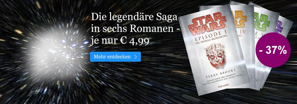 Star Wars-Romane kurzzeitig nur 4,99 EUR