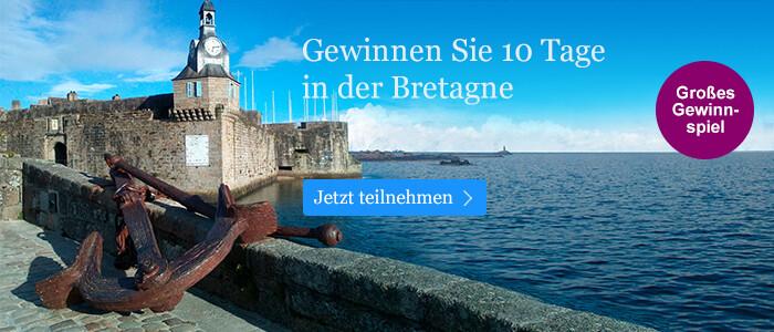 Gewinnen Sie 10 Tage in der Bretagne bei eBook.de