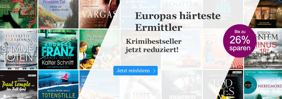Jetzt sparen: Europas Ermittler als Hörbuch Download  reduziert