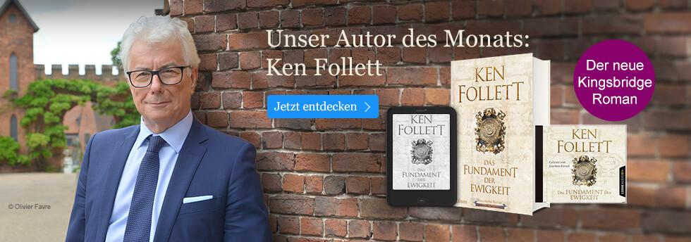 Ken Follett - unser Autor des Monats