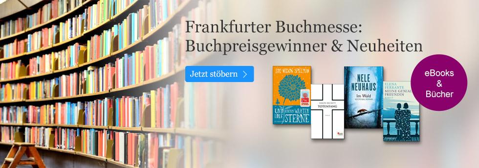 Neuheiten & Preisträger zur Frankfurter Buchmesse 2016