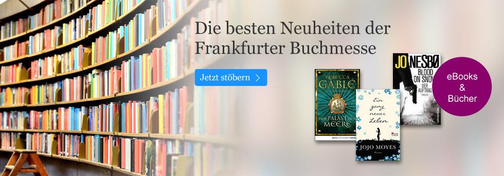 Die besten Neuheiten der Frankfurter Buchmesse bei eBook.de