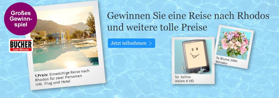 Das große Frühjahrsgewinnspiel bei eBook.de
