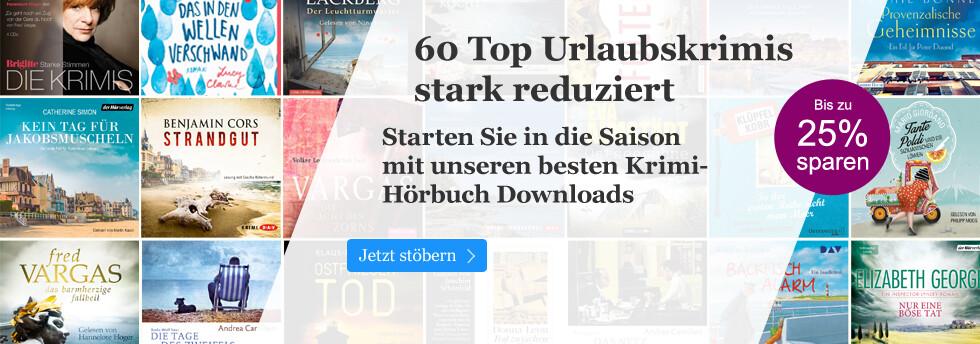 60 Top Urlaubskrimis stark reduziert bei eBook.de