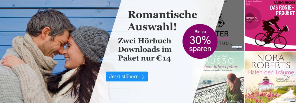 Hörbuch Downloads im Paket - Romantk zum Valentinstag