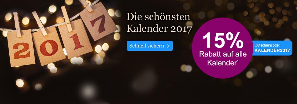 15% Rabatt auf Kalender bei eBook.de