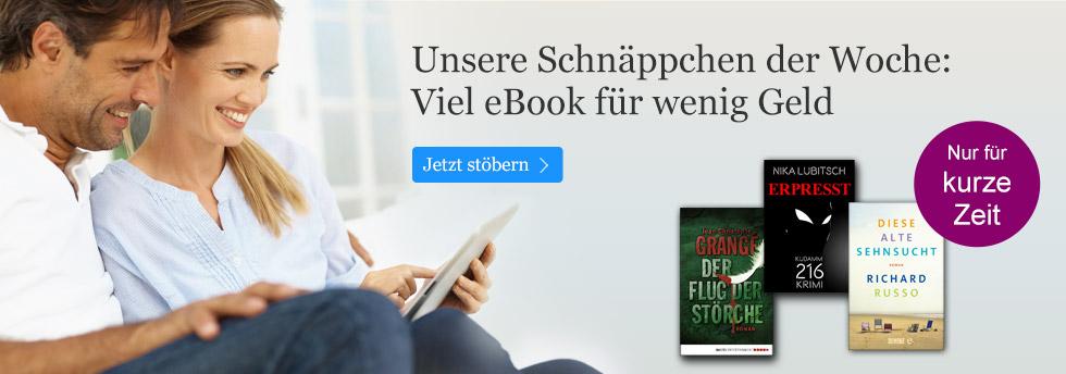 Unsere eBook Schnäppchen der Woche