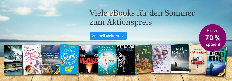 eBook Schnäppchen für den Sommer