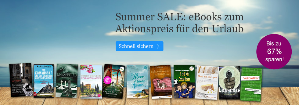 eBook.de Summer Sale 2016