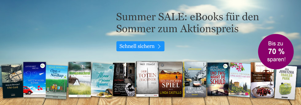 eBooks Summer SALE bei eBook.de
