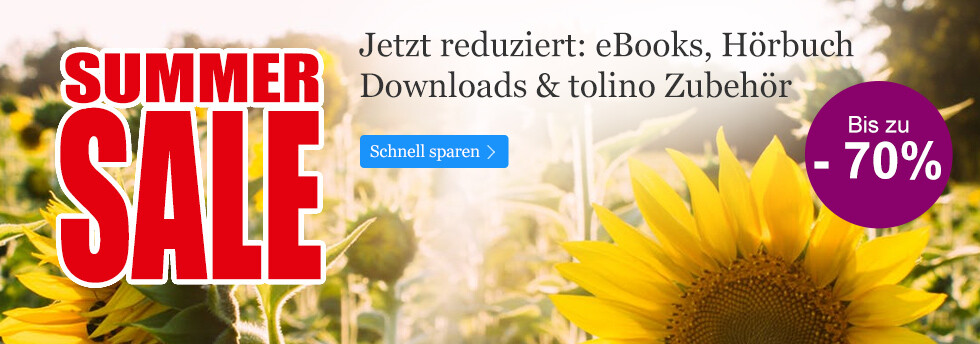 Summer Sale 2017 bei eBook.de