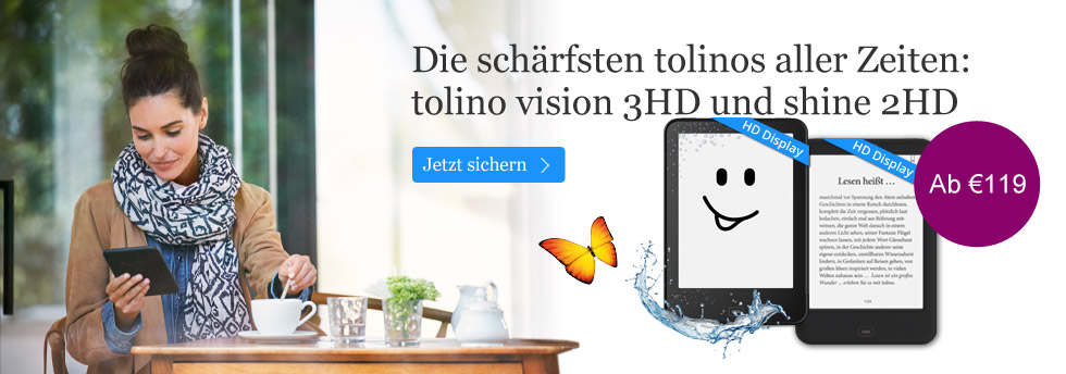 tolino eBook Reader  ab 119 Euro