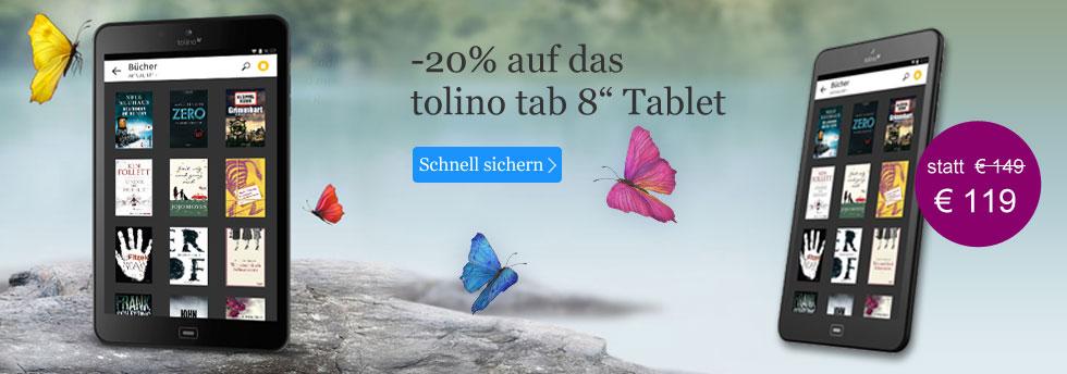 Tablet tolino tab 8
